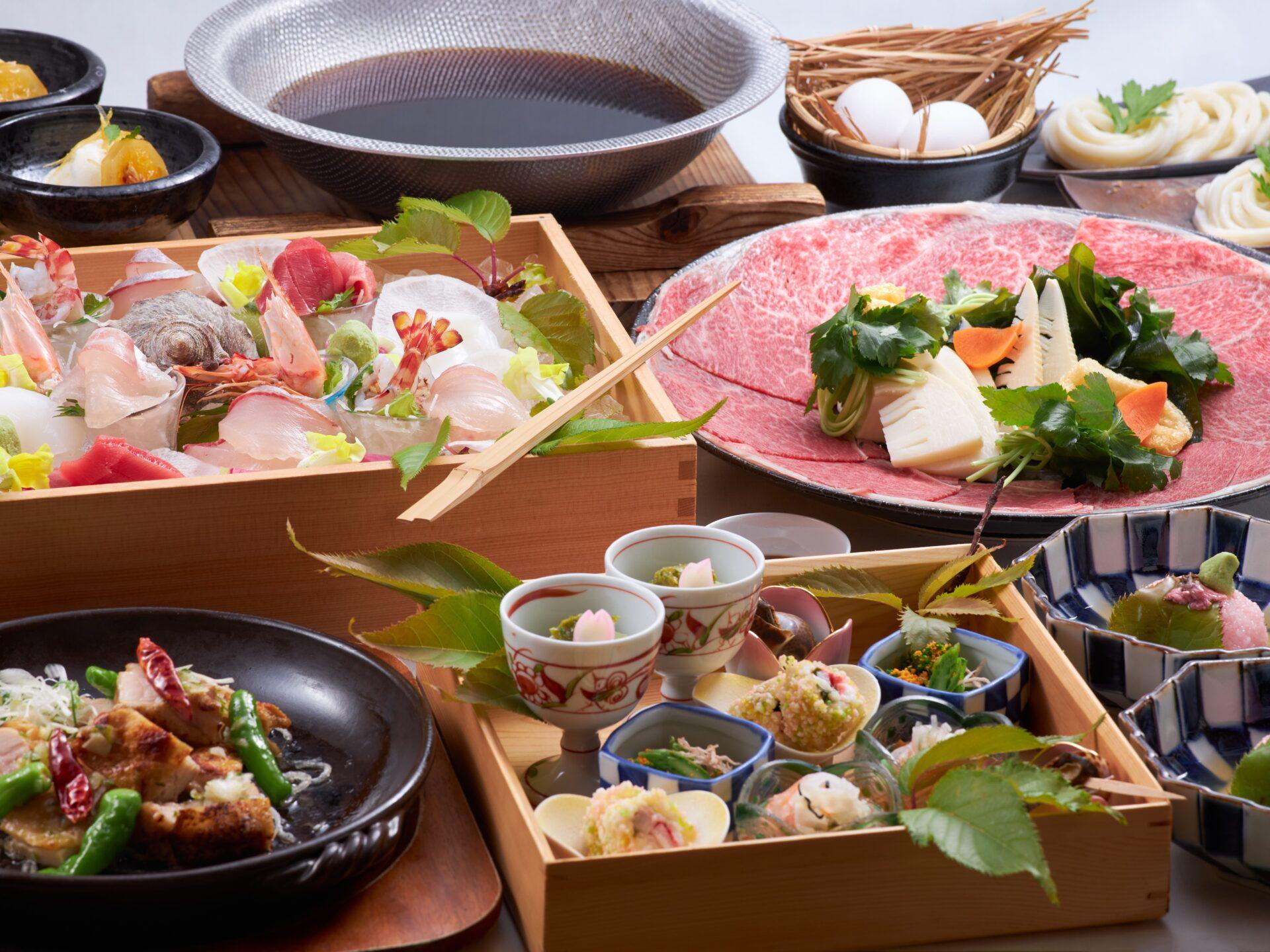 厳選された季節の食材を味わう旬味プラン【和食:二食付】