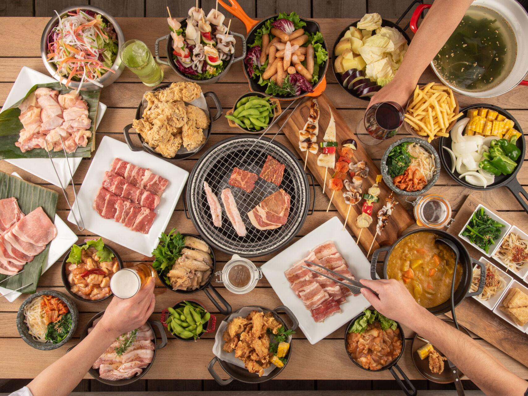 【春のグルメ特集】宿泊&日帰りで楽しめる食べ放題BBQパックをご紹介!